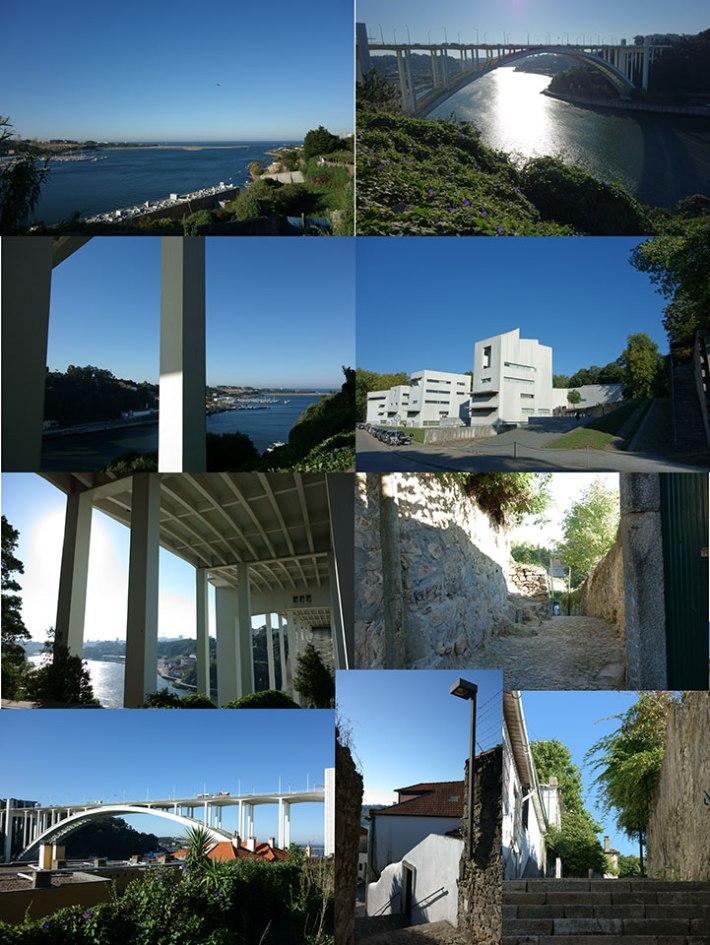 Alto da Arrábida - ponte - rio douro - FAUP - Caminhos do Romântico