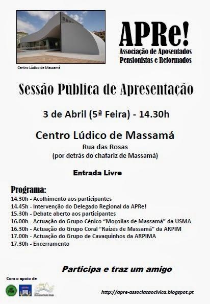 Sessão apresentação Massamá