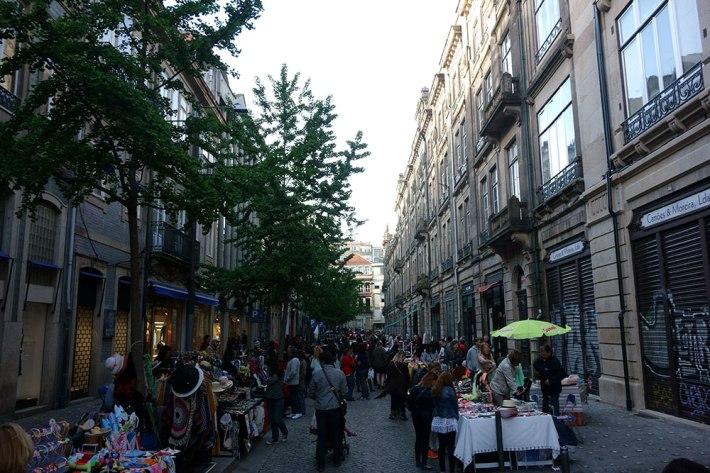 Rua Cândido dos reis - Mercado