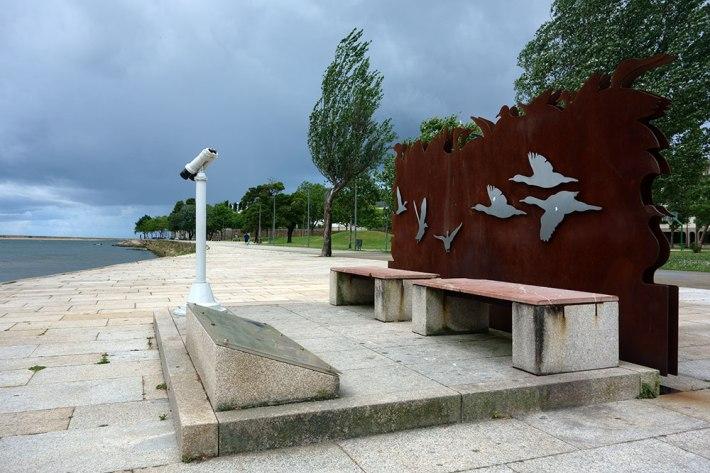 Local de observação de pássaros - Jardim do Ouro