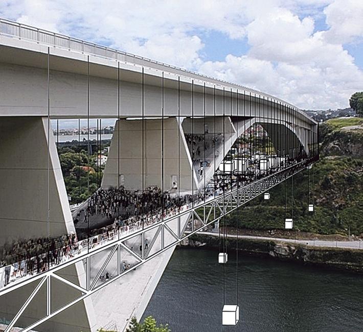 A Ponte do Infante e o ousado estudo/proposta do Arq. António Fontes