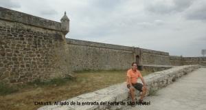 7. Entrada del Forte de São Neutel