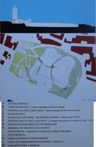 Plano castelo Almeida