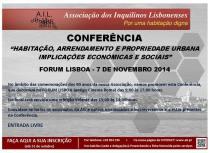 Conferência - 7 de Novembro