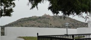 Vista del Forte da Graça desde el Cementerio de los Ingleses