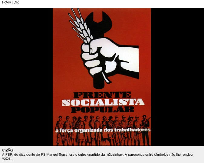 cartaz frente socialista popular
