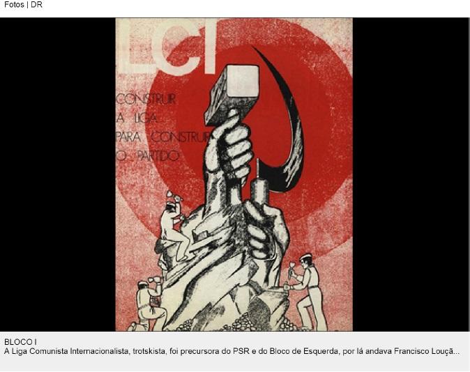 cartaz liga comunista Internacional