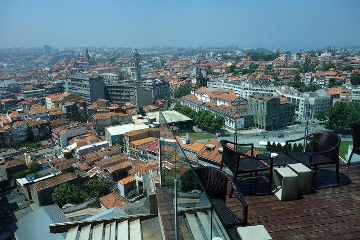 Vista do Restaurante do Hotel D. Henrique