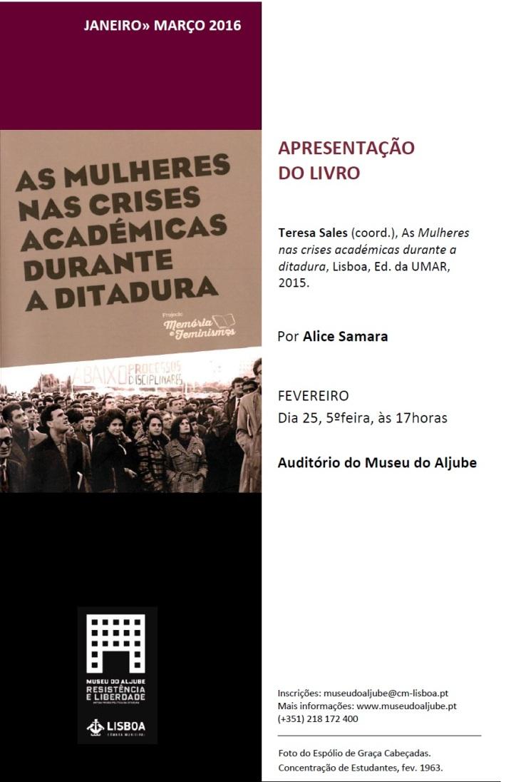 As mulheres nas crises académicas durante a ditadura