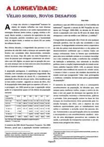 APRe! - Observatório do Envelhecimento - Newsletter nº 3 - V
