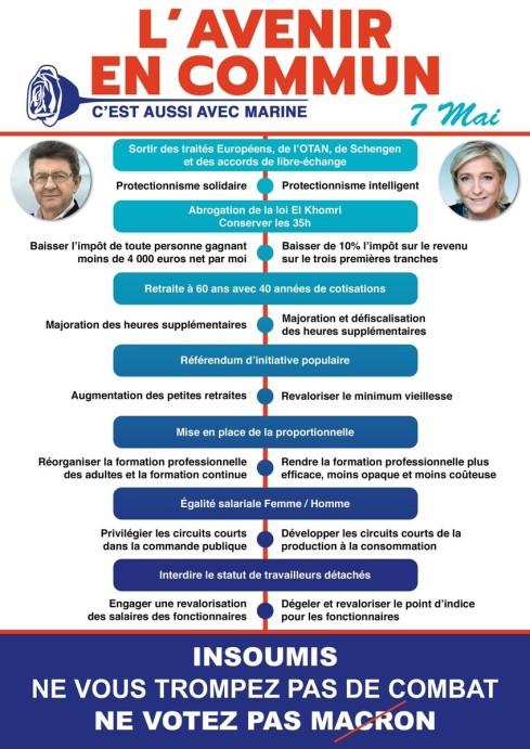 França Que fazer escolher Macron escolher Martine Le Pen ou escolher não escolher Texto 4 Macron Le Pen 2