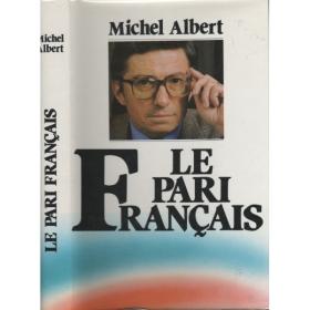 occasion-le-pari-francais-michel-albert