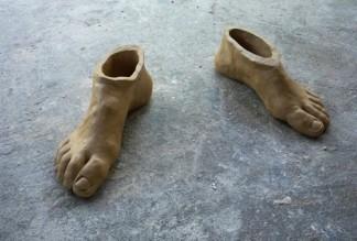 pés de barro