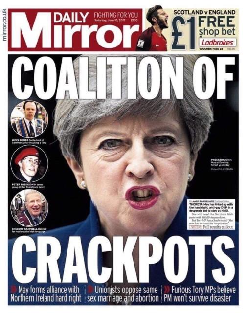 Reflexões sobre um sistema político falhado Parte 2 Tories, DUP e o Brexit 3