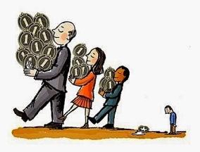 Transferência de riqueza, transferênci