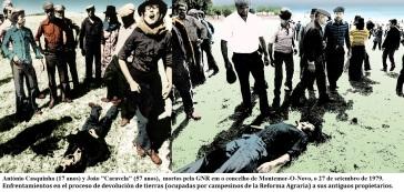 António Casquinha e João Caravela, mortos pela GNR