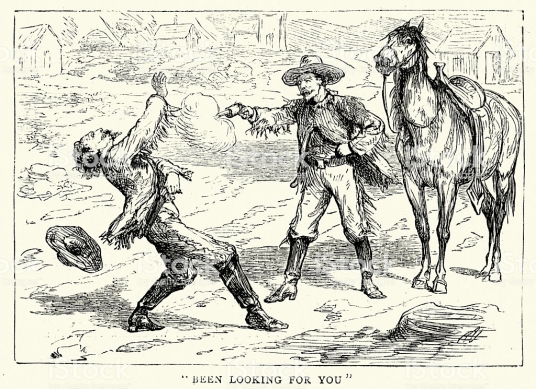 American Far West - Gun Fight 1874