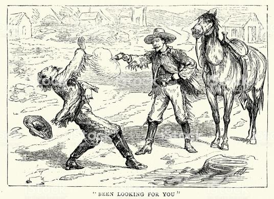 American Far West - Gun Fight 1874