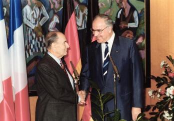 Frankreich, Staatsbesuch Bundeskanzler Kohl