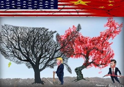 Tensão EUA China 0