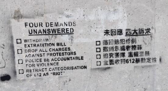Ainda China EUA 4 Hong Kong revolução papel colorido 1