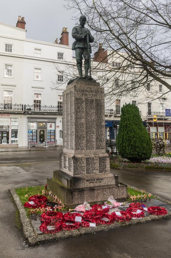 War Memorial, Euston Place, Leamington Spa