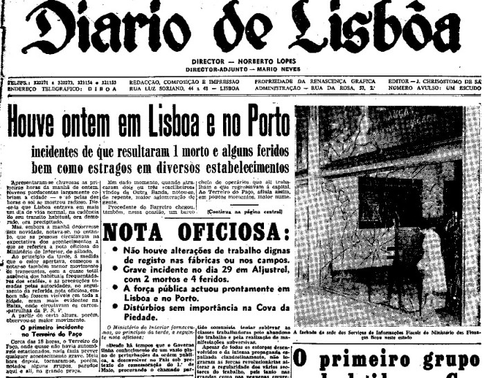 Assassinato Estevão Giro 1